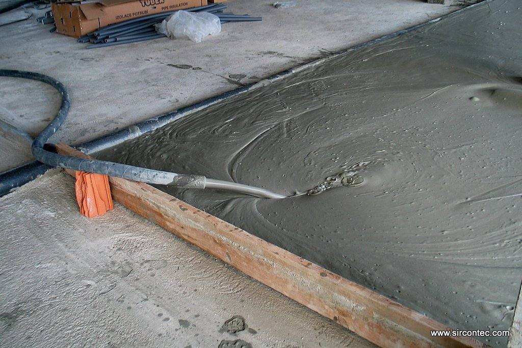 Sircontec for Insulated concrete foam